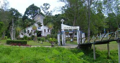 Gereja di P. Galang