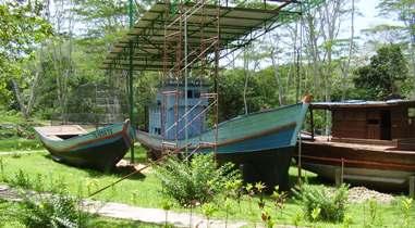 Sisa Perahu Vietnam