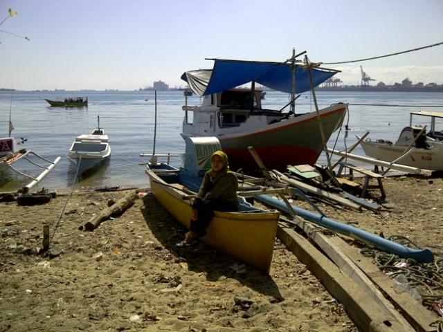 Pulau Lae-lae, Perkampungan Nelayan