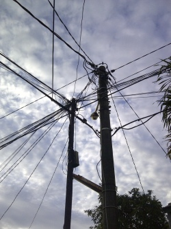 di persimpangan kabel