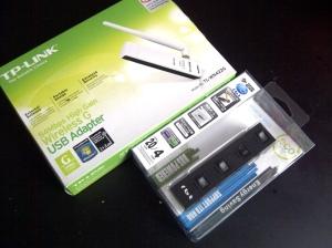 Dongle Wi-fi dan USB Hub