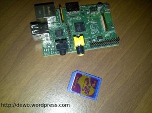 Salin image OS ke SD Card