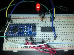 Programmer ATtiny84 with Arduino Nano