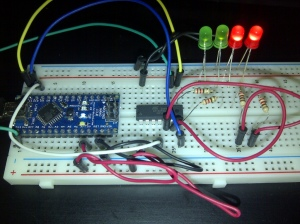 Test Program ATtiny84