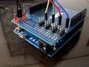 Arduino + Protoshield