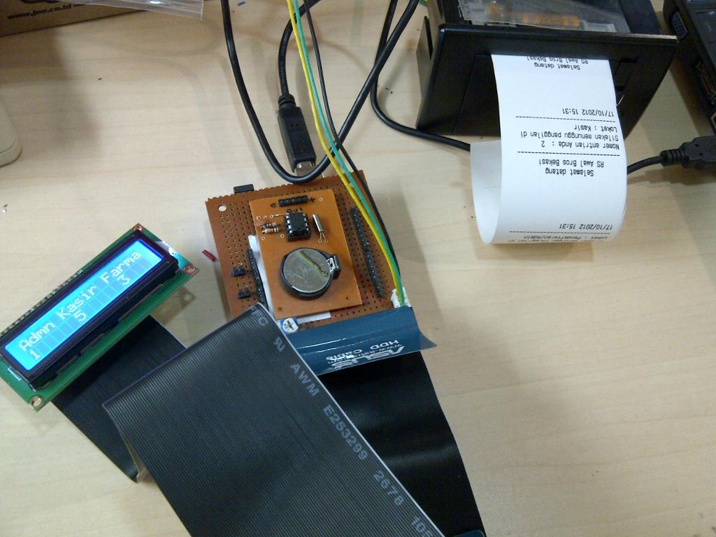 Goresan pena lopito mesin antrian arduino untuk rs awal