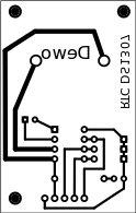 PCB, siap utk transfer paper atau transparansi