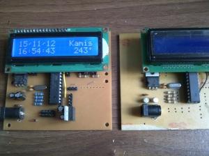 Perakitan prototype di PCB baru