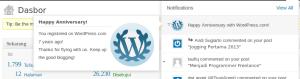 7 Tahun Bersama WordPress