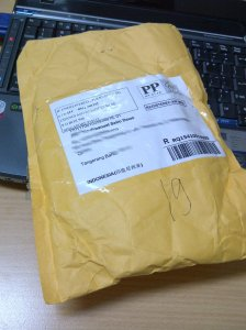 Akhirnya paket datang setelah menanti lama