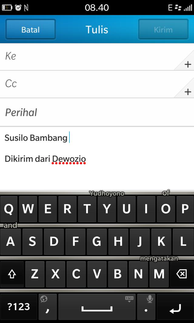 Swipe Yudhoyono