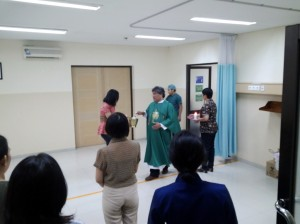 Pemberkatan Rumah Sakit