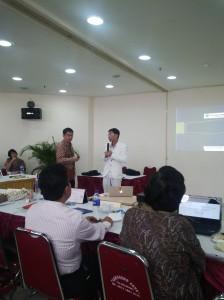 Presentasi oleh Pak Sumardi