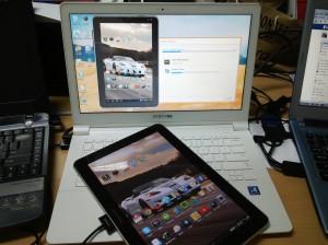 Ponsel/Tablet bisa dikendalikan dari Laptop