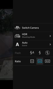 Setting HDR di kamera BlackBerry Z10