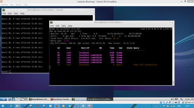 Lubuntu di Virtual Machine