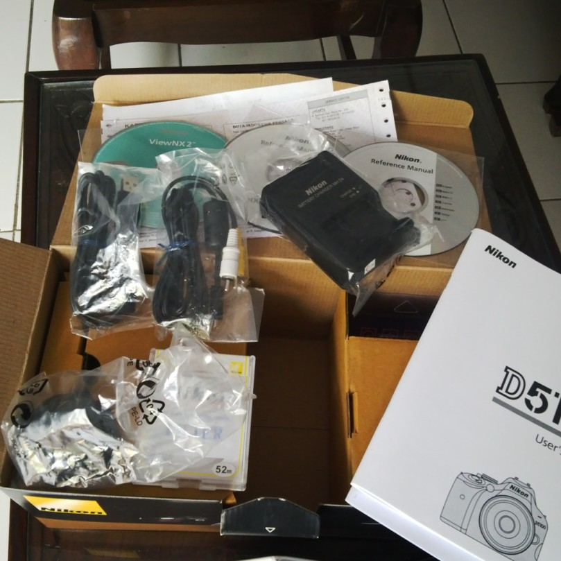 Paket Nikon D5100
