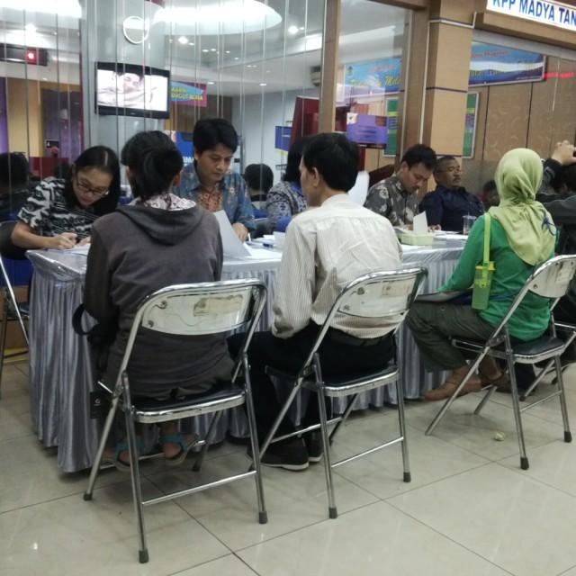 Suasana Kantor Pajak Tangerang