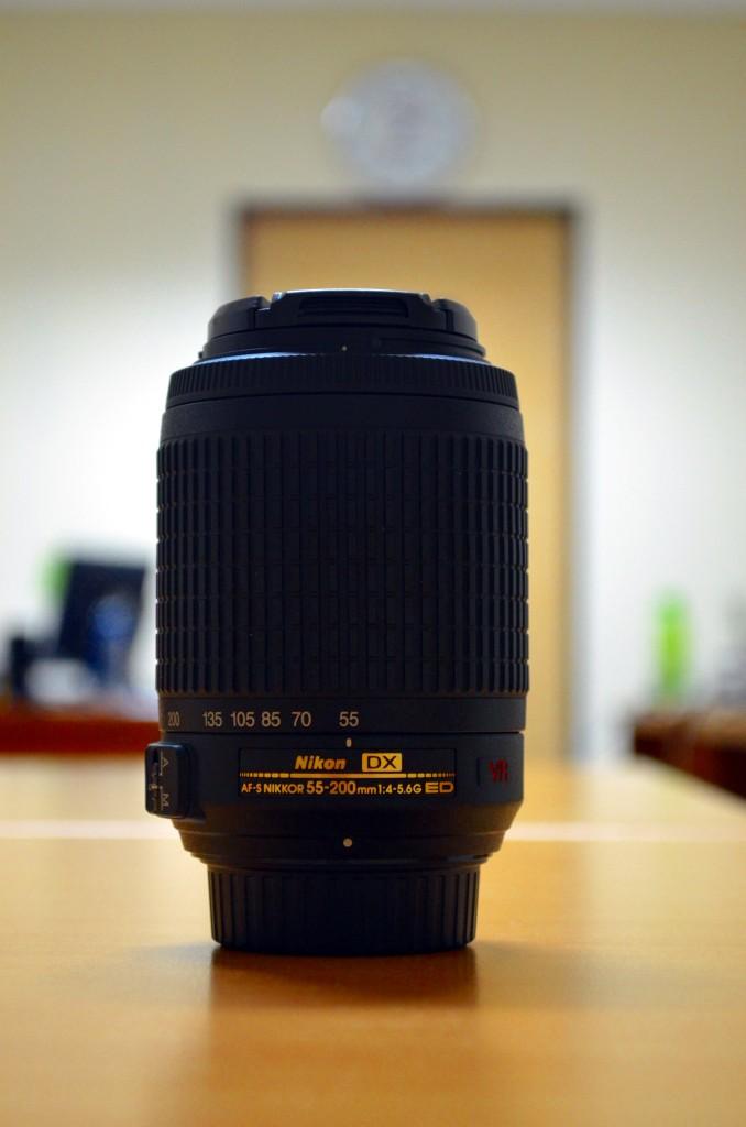 Nikkor AF-S 55-200mm f/4-5.6G ED VR