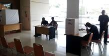 Suasana di TPS RS Awal Bros Tangerang
