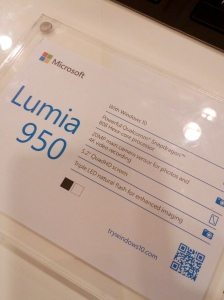 Spesifikasi Lumia 950