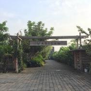Gerbang yang sederhana