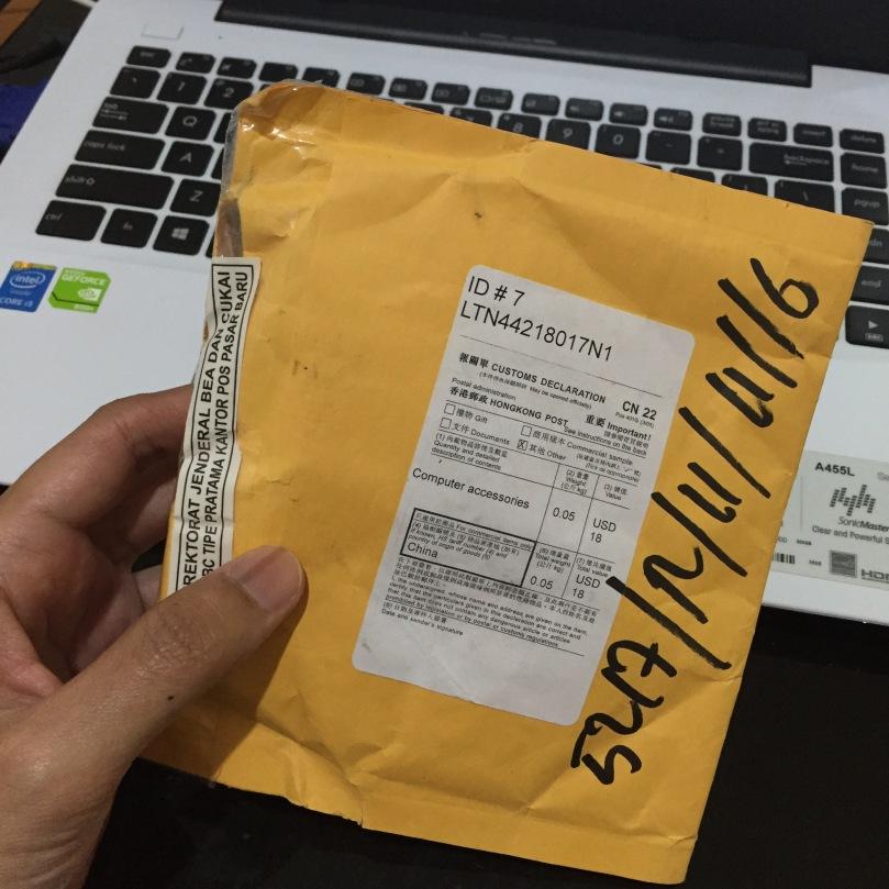 Paket CHIP telah tiba